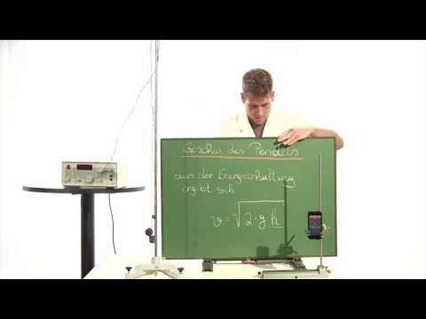 Experiment: Fadenpendel mit Lautsprecher