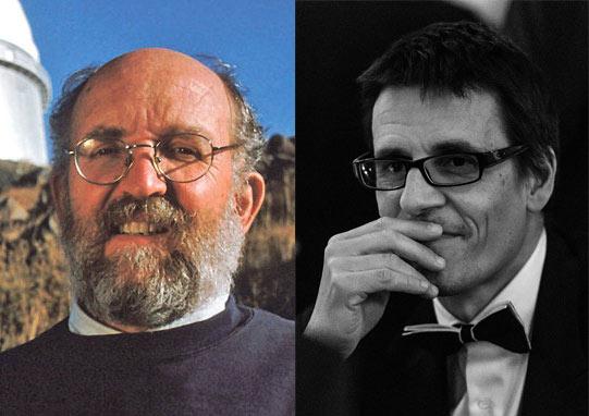 Nobelpreisträger Mayor und Queloz